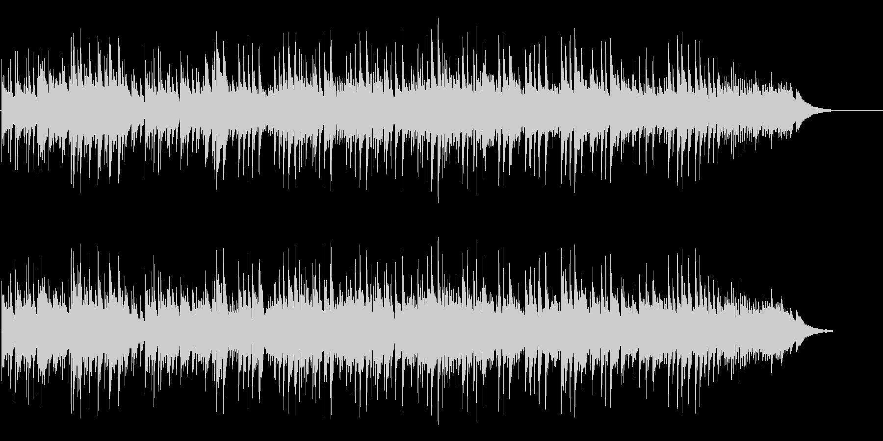 甘いブライダル向けピアノポップバラードの未再生の波形