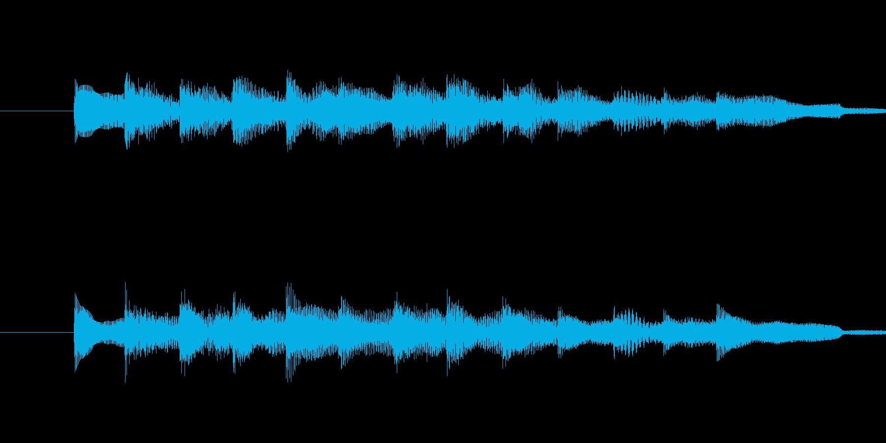 ・シンプルでやわらかい音が特徴のサウン…の再生済みの波形