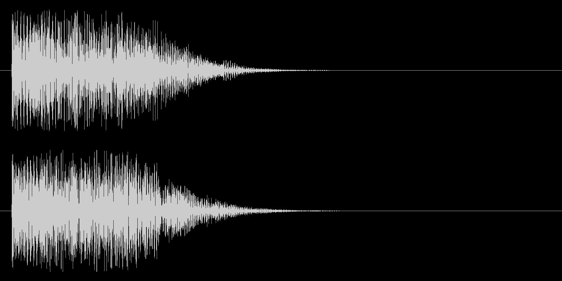ドレデデンの未再生の波形