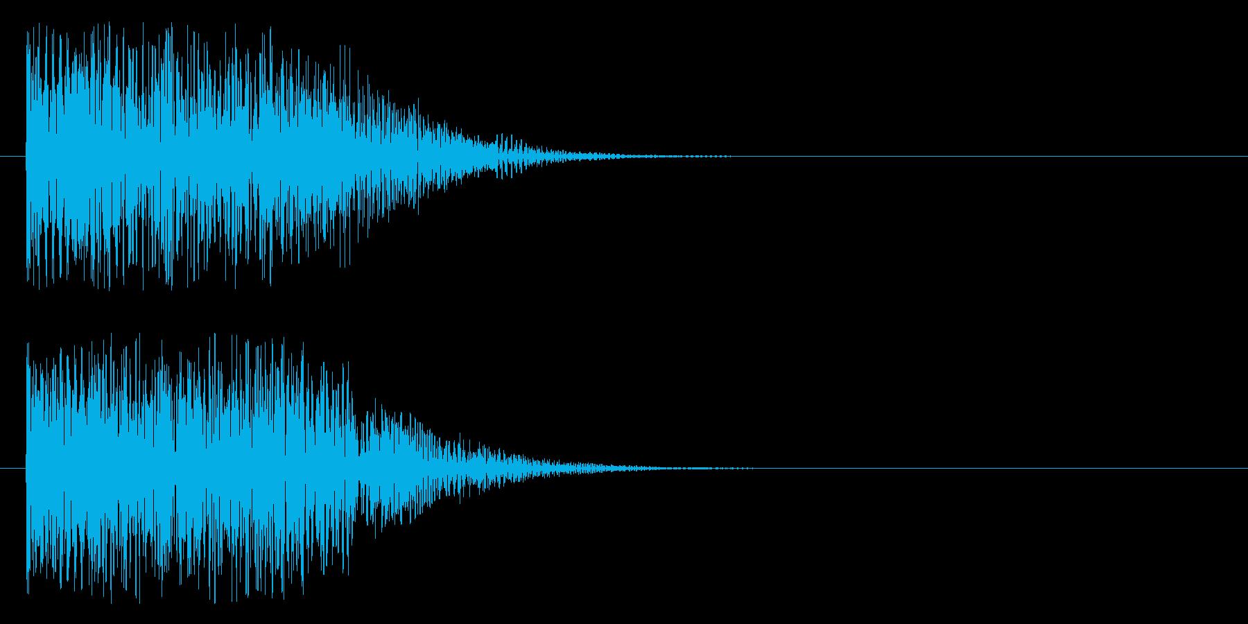 ドレデデンの再生済みの波形