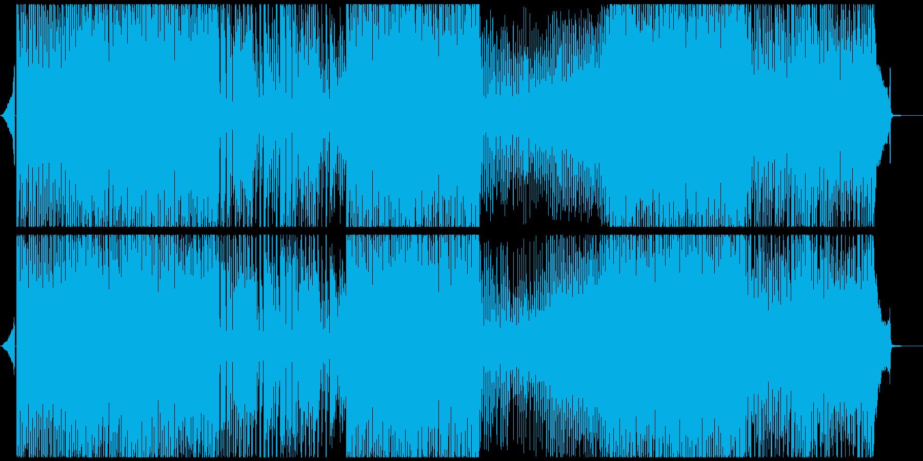 VP・CM・ゲーム等 ポジティブポップスの再生済みの波形