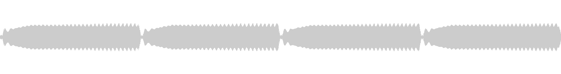 【サイレン01-4L】の未再生の波形