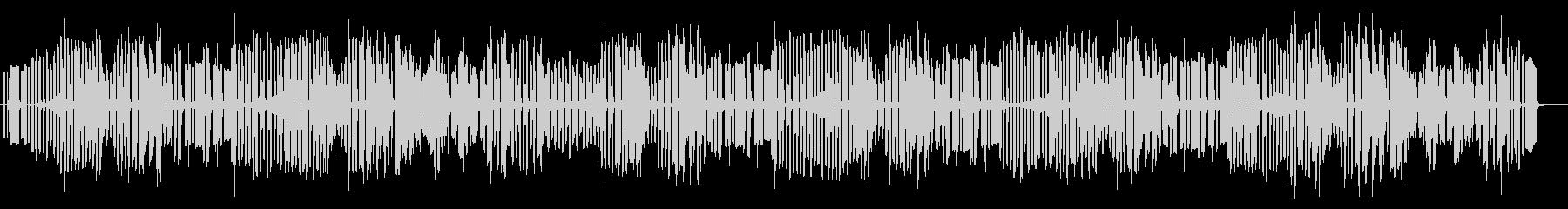 3分クッキングのテーマをイメージした曲の未再生の波形