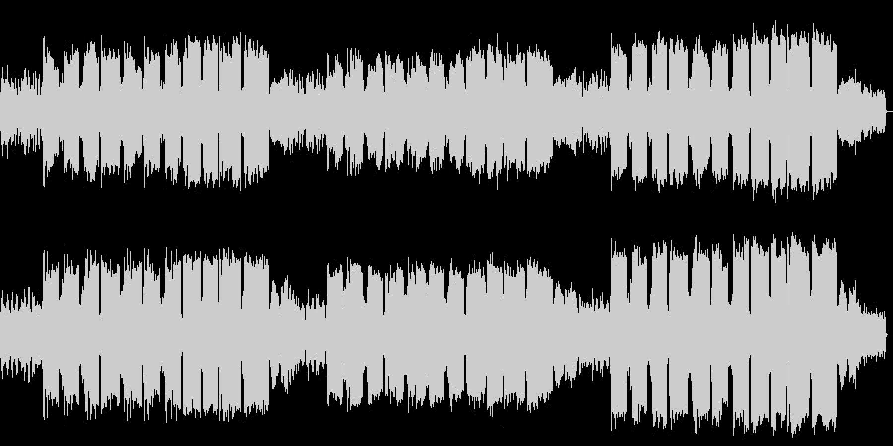 ピアノ管楽器によるファンタジックバラードの未再生の波形