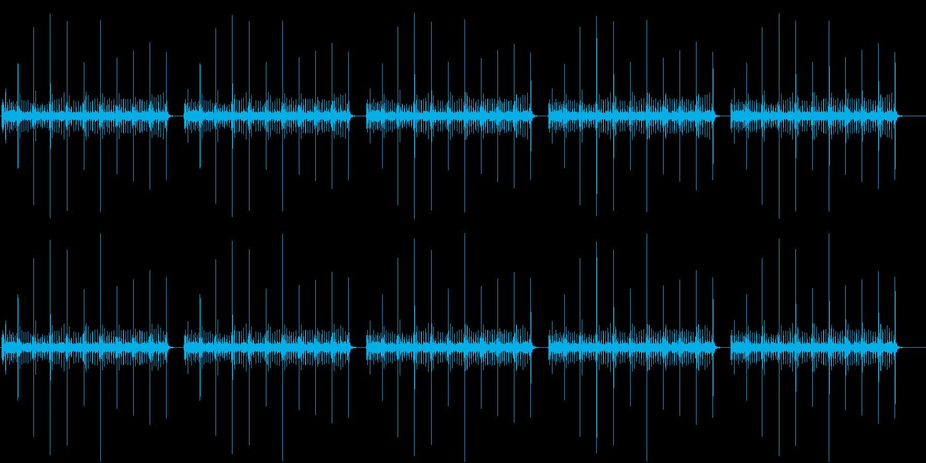 映像の機械の再生済みの波形