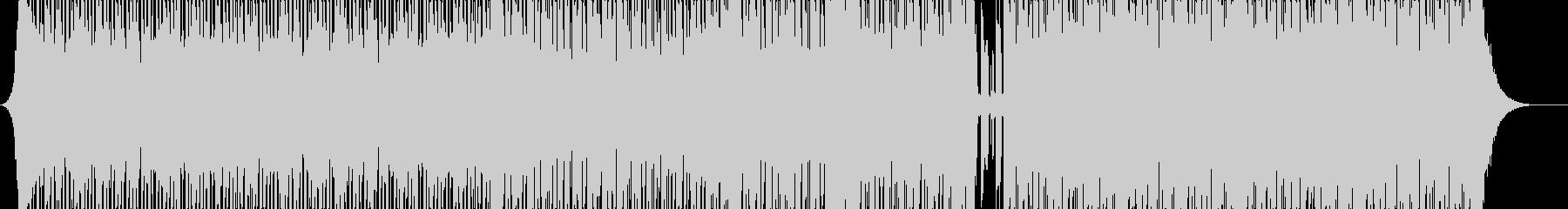 【ハウス】軽快でノリノリなハウスの未再生の波形