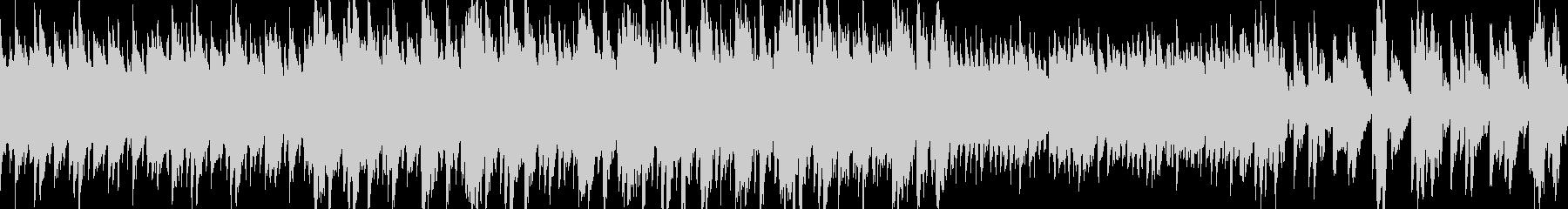 優しい音のポップで愉快なループBGMの未再生の波形