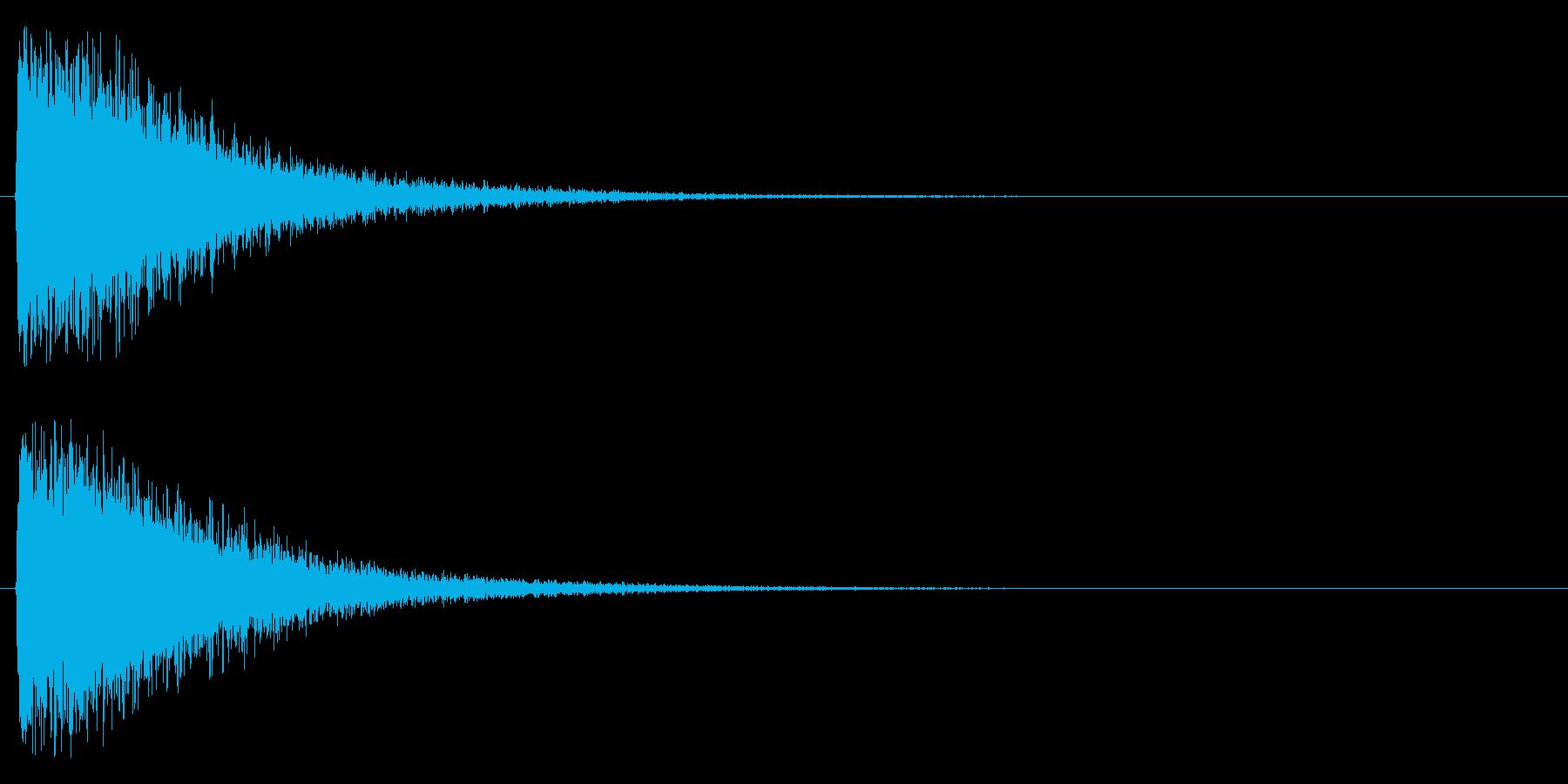 ジャンー!の再生済みの波形