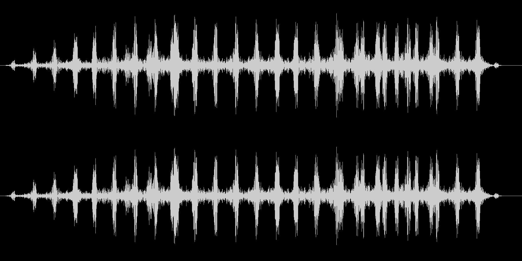 ドクドク・・・(リアルな心臓の鼓動音)の未再生の波形