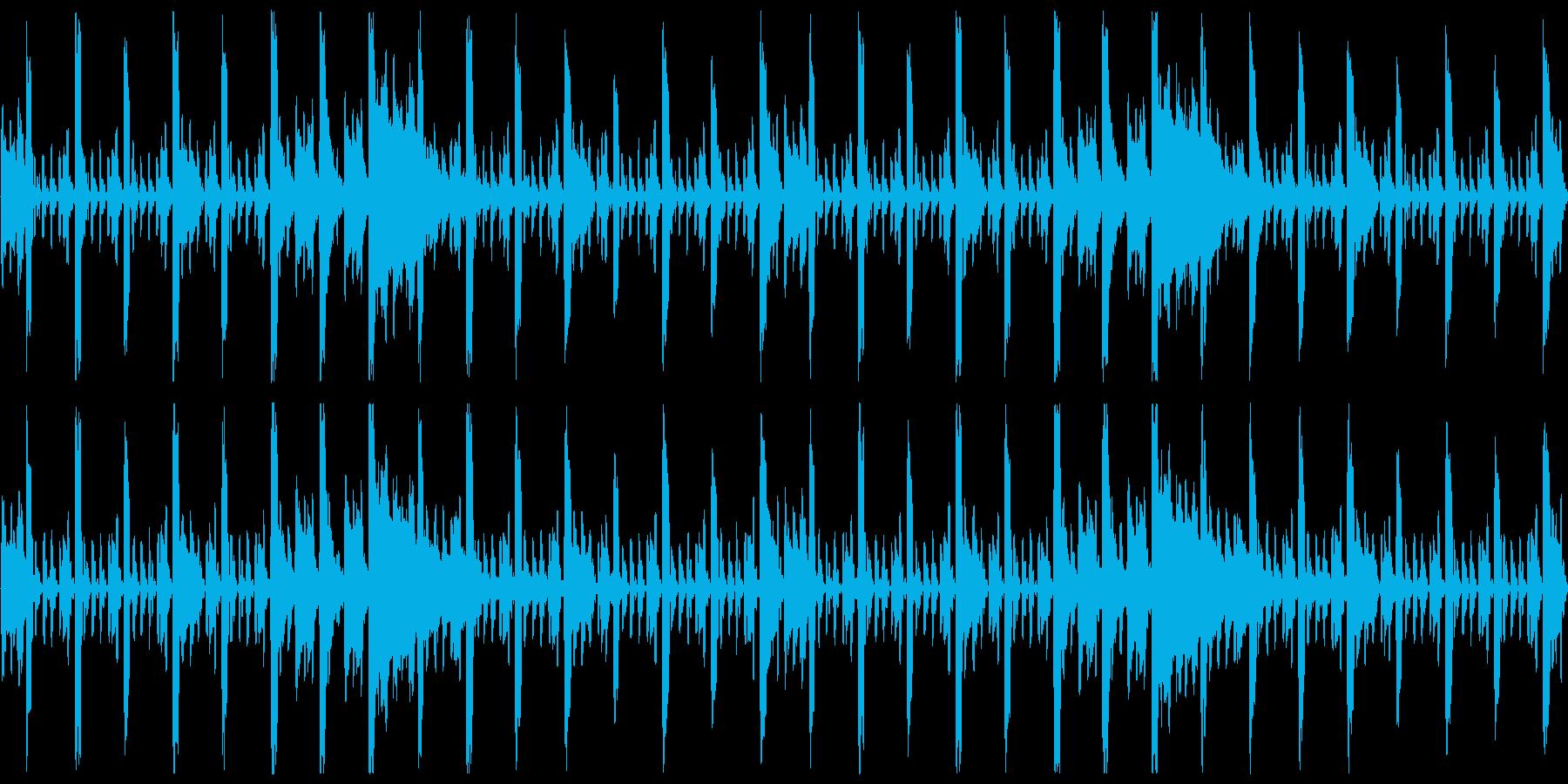 クイズの考え中に。 コミカル もやっとの再生済みの波形