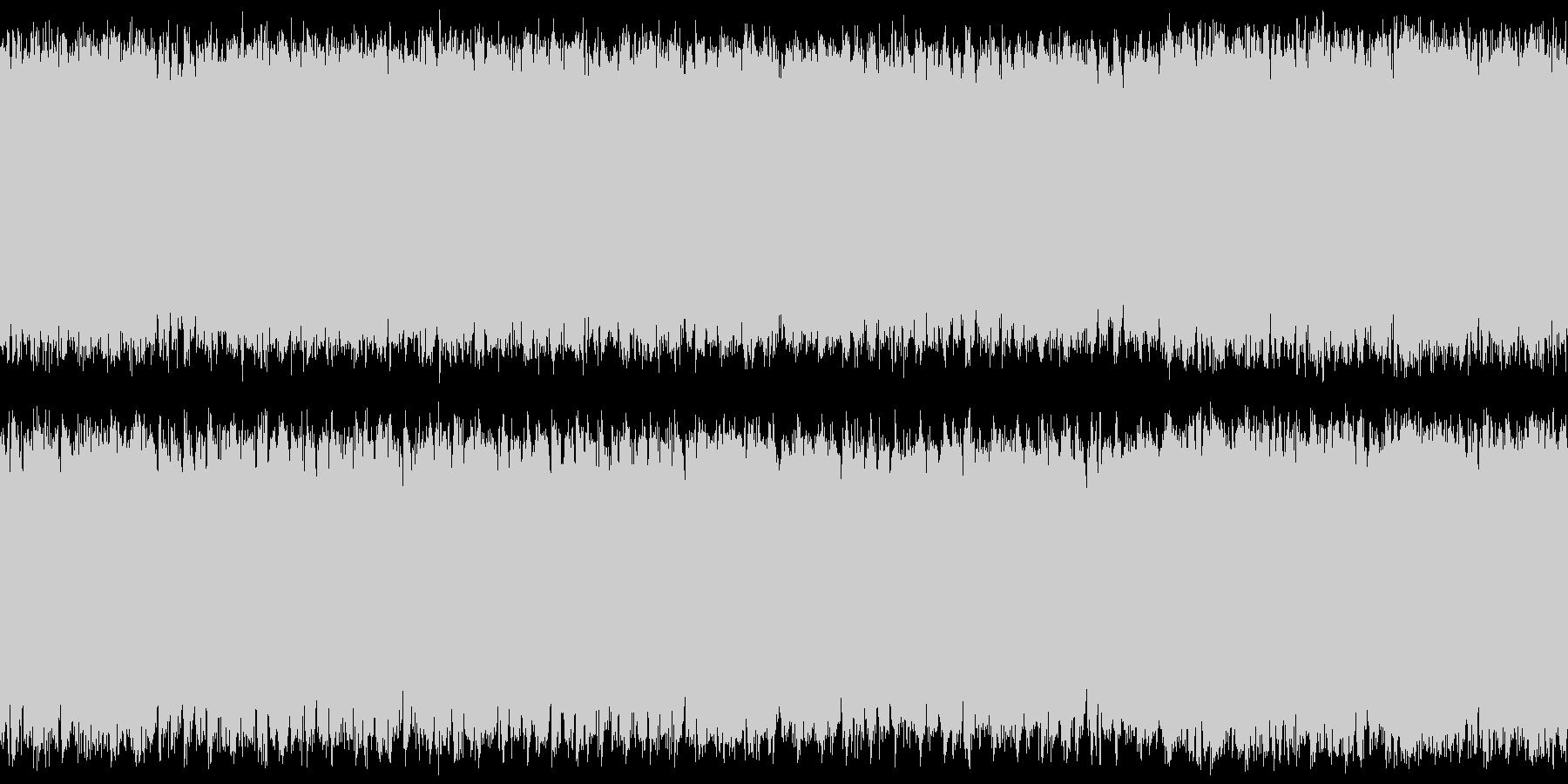ステージ画面・横スクロール系・シンセの未再生の波形