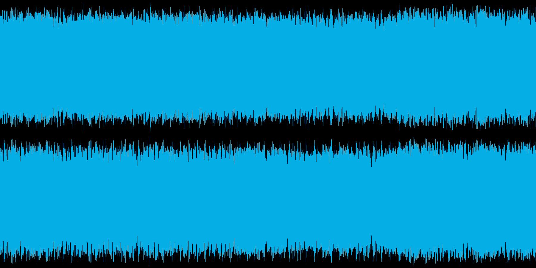ステージ画面・横スクロール系・シンセの再生済みの波形