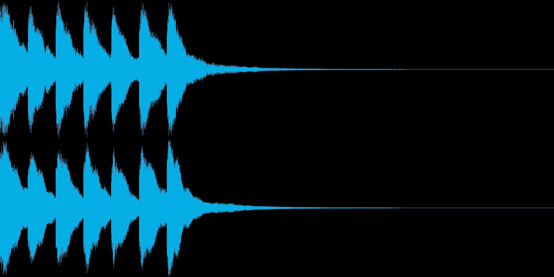 シンプル ベル チャイナ 中国風 19の再生済みの波形