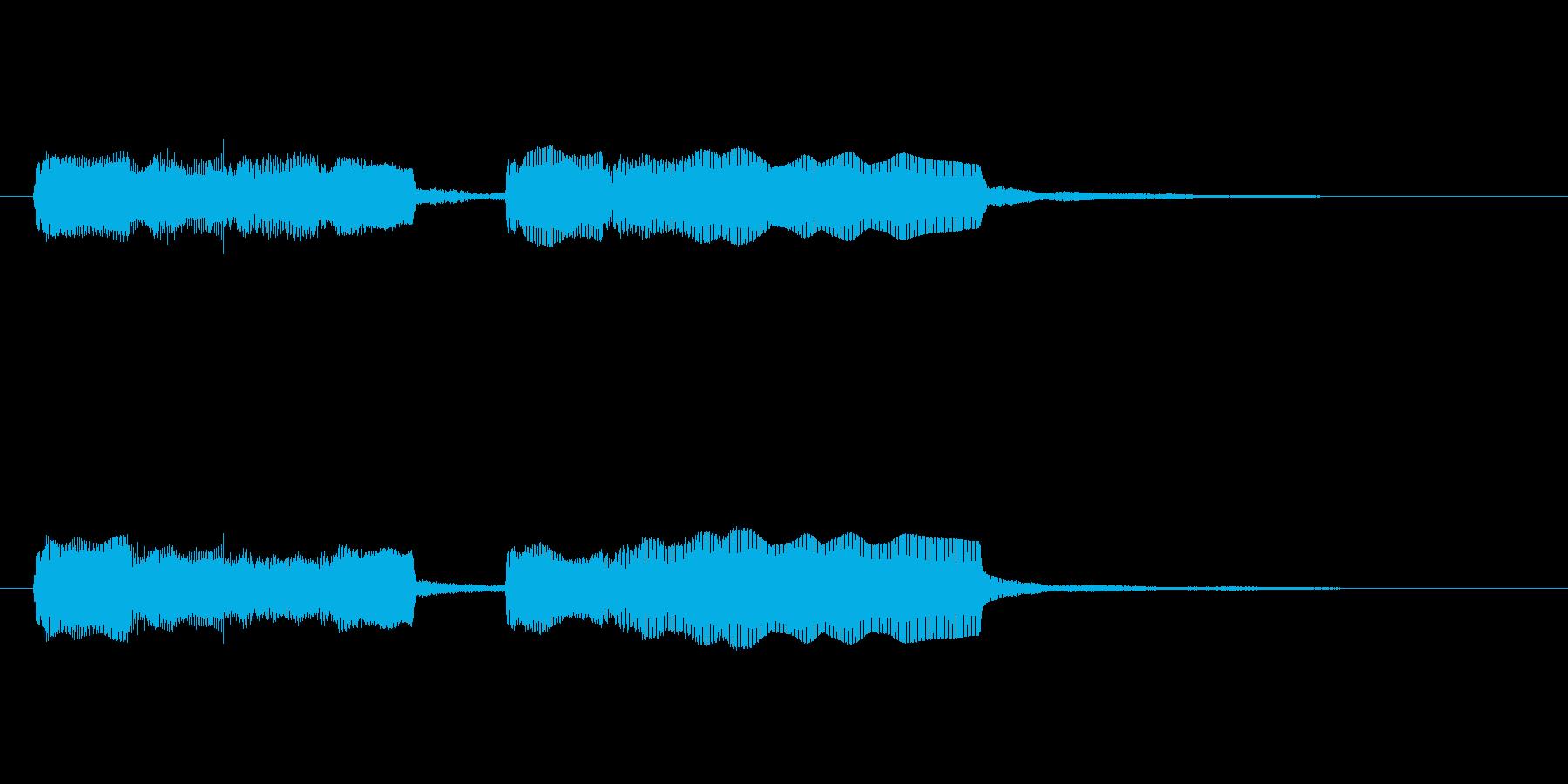 【フレーズ03-1】の再生済みの波形