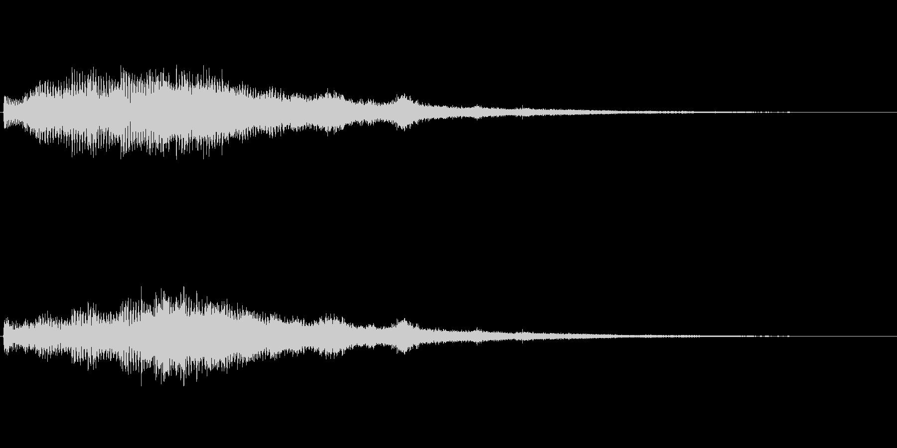 【ショートブリッジ04-1】の未再生の波形