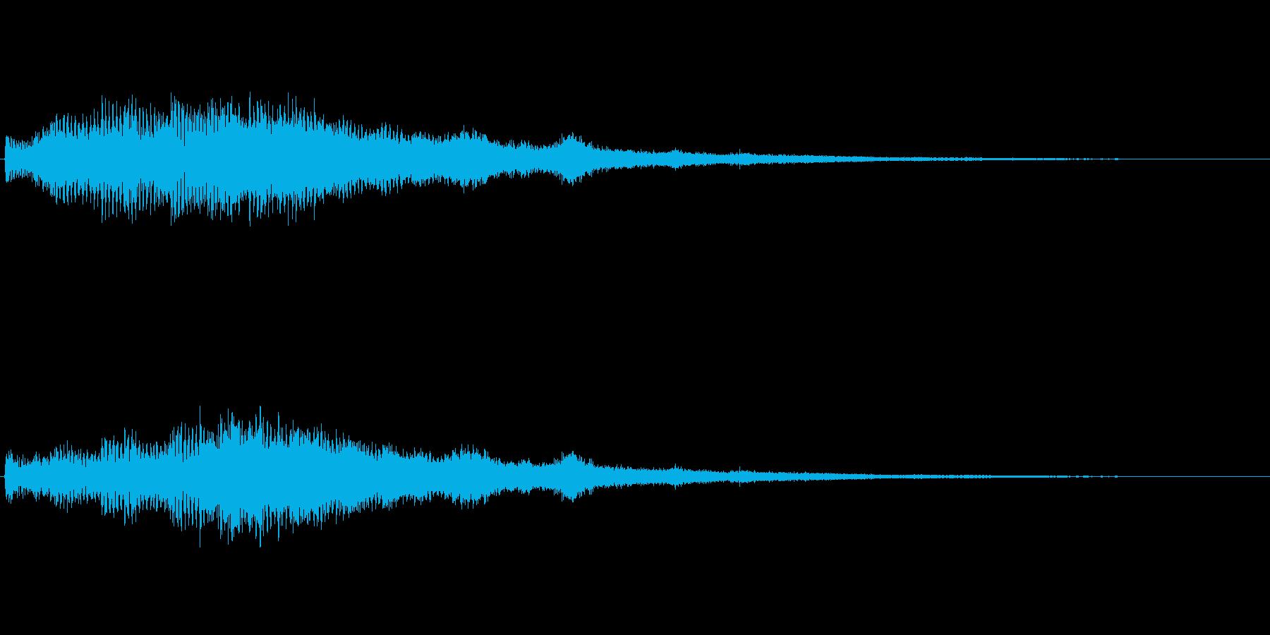【ショートブリッジ04-1】の再生済みの波形