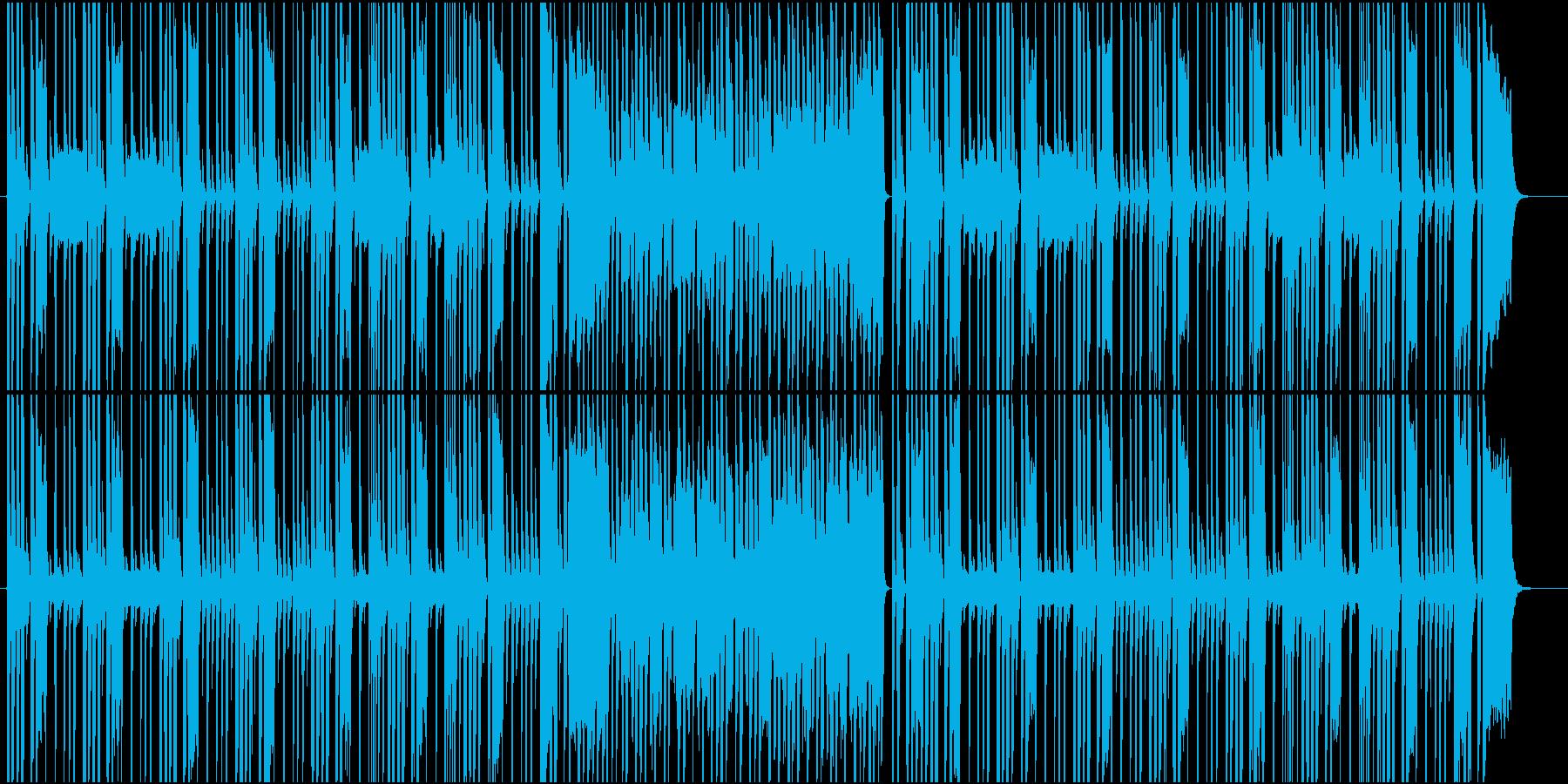 アニメ CM コミカル 軽快 おとぼけの再生済みの波形