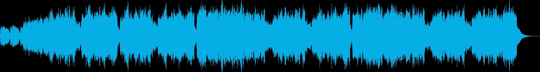 【BGM】結婚式入場01(オルガン)の再生済みの波形