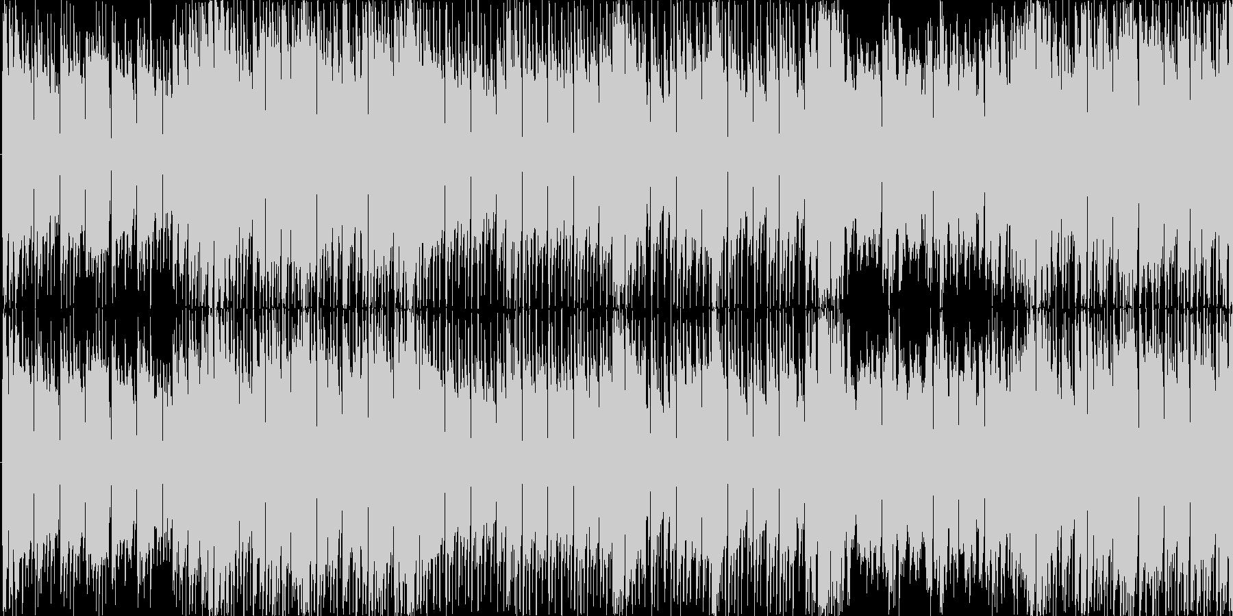 バトル競争レースなどのBGM_LOOPの未再生の波形