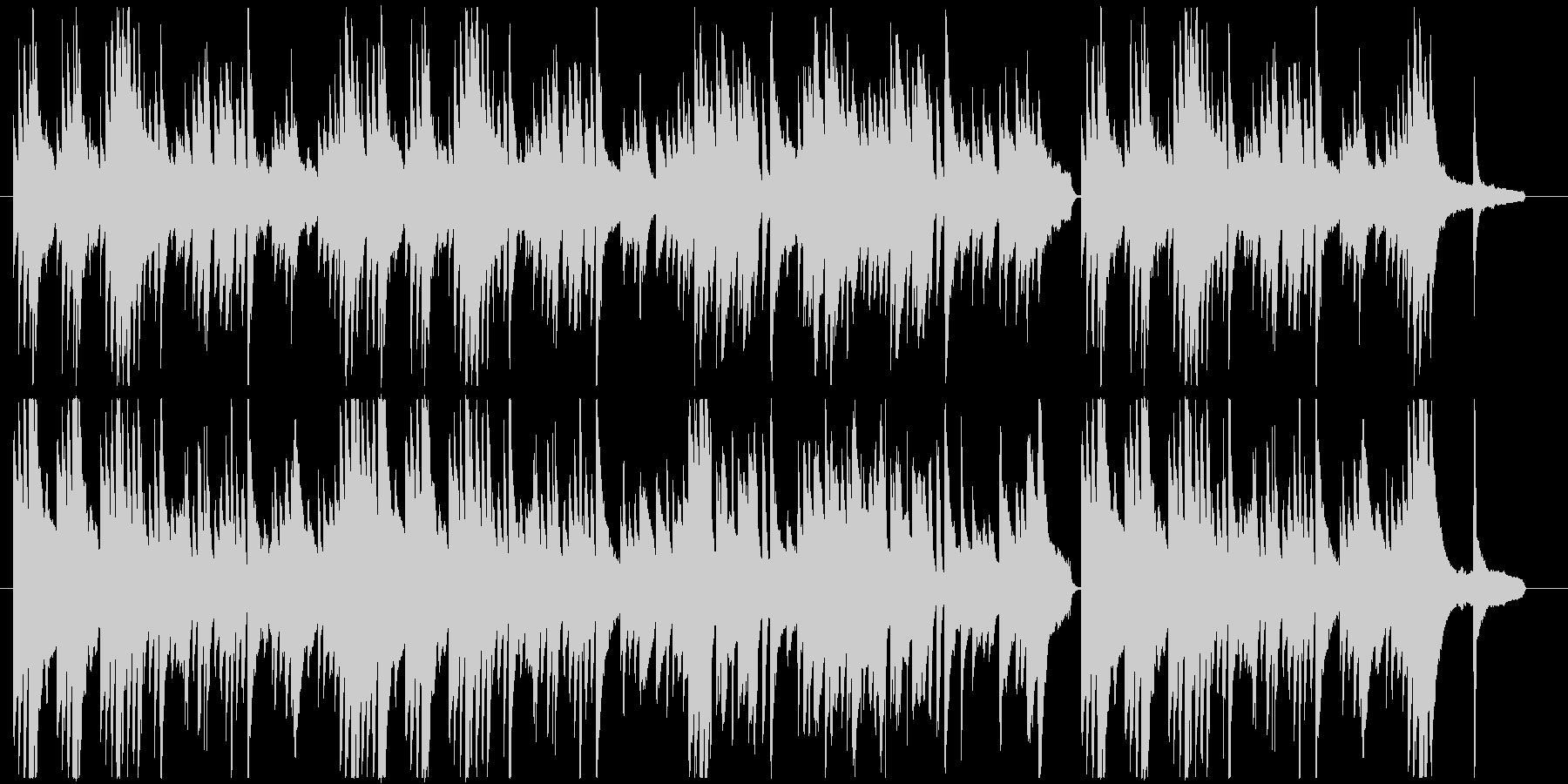 優しい旋律のピアノ楽曲です。の未再生の波形
