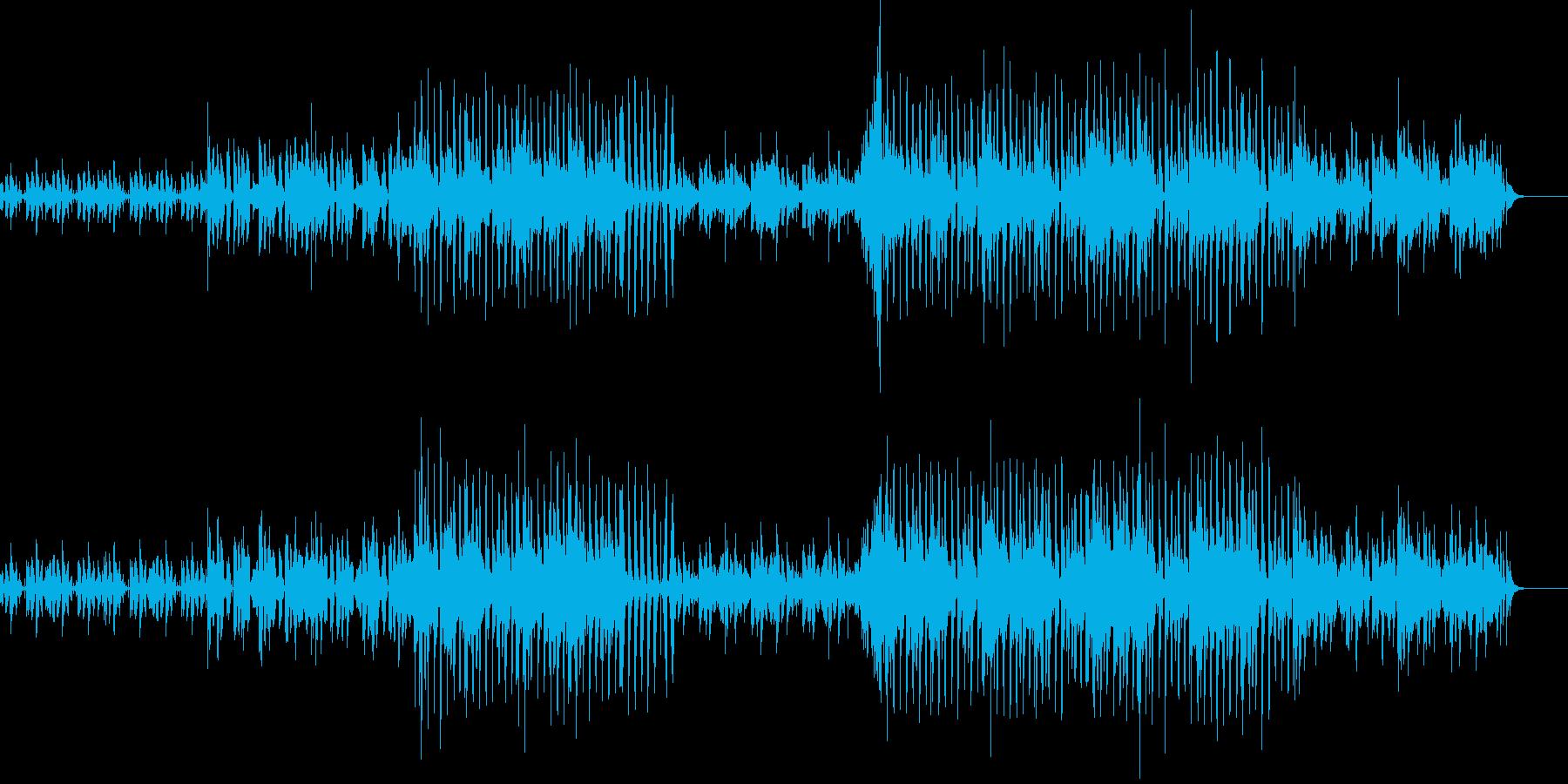 ダウンテンポ・エレクトロの再生済みの波形