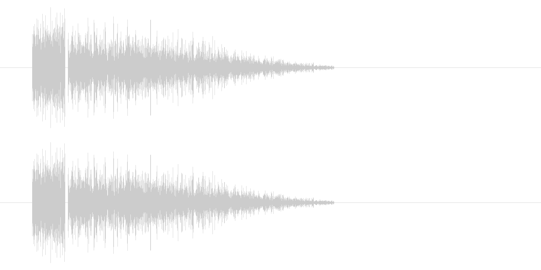 SNES-RPG04-05(魔法 雷1)の未再生の波形
