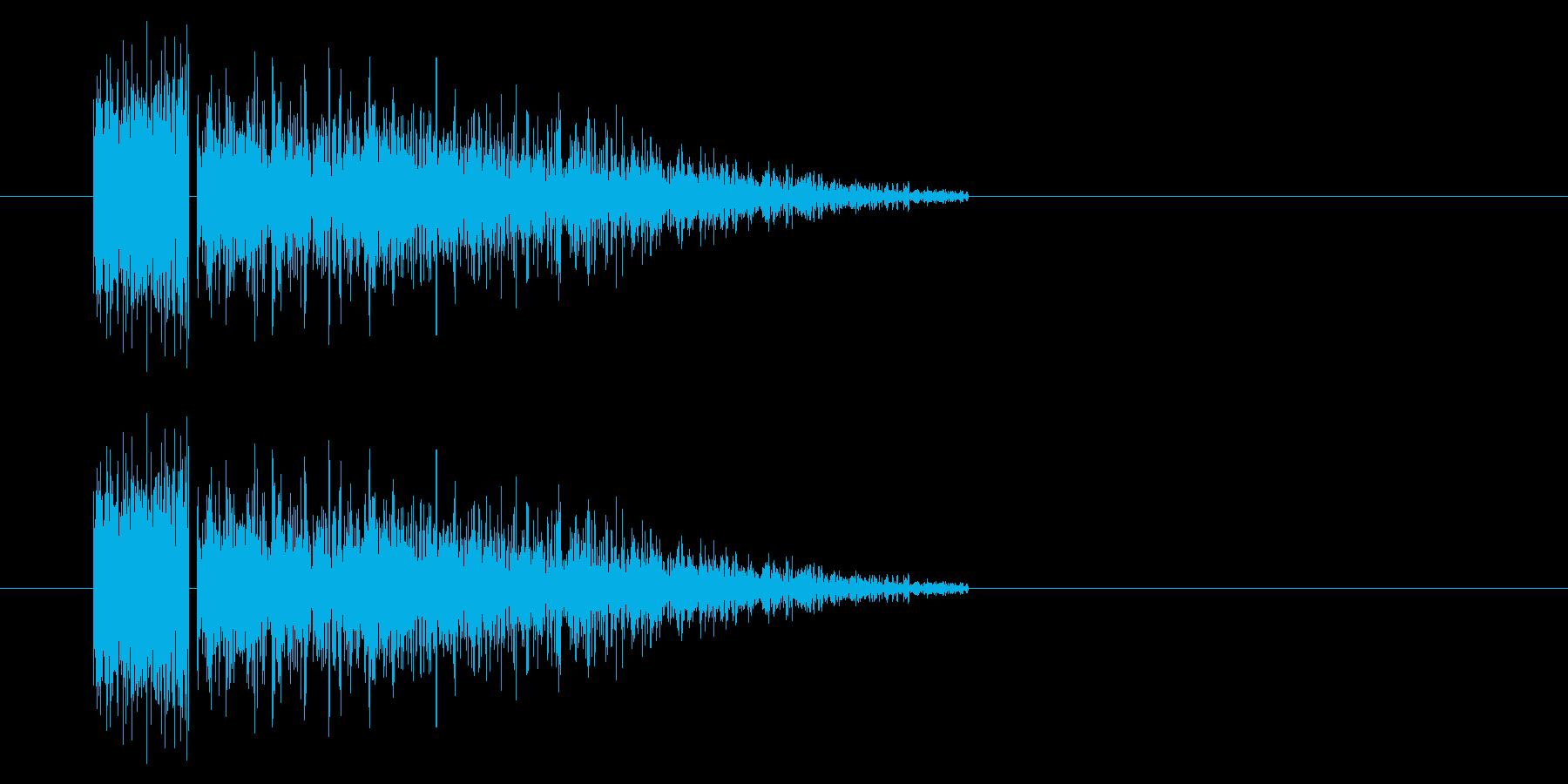 SNES-RPG04-05(魔法 雷1)の再生済みの波形