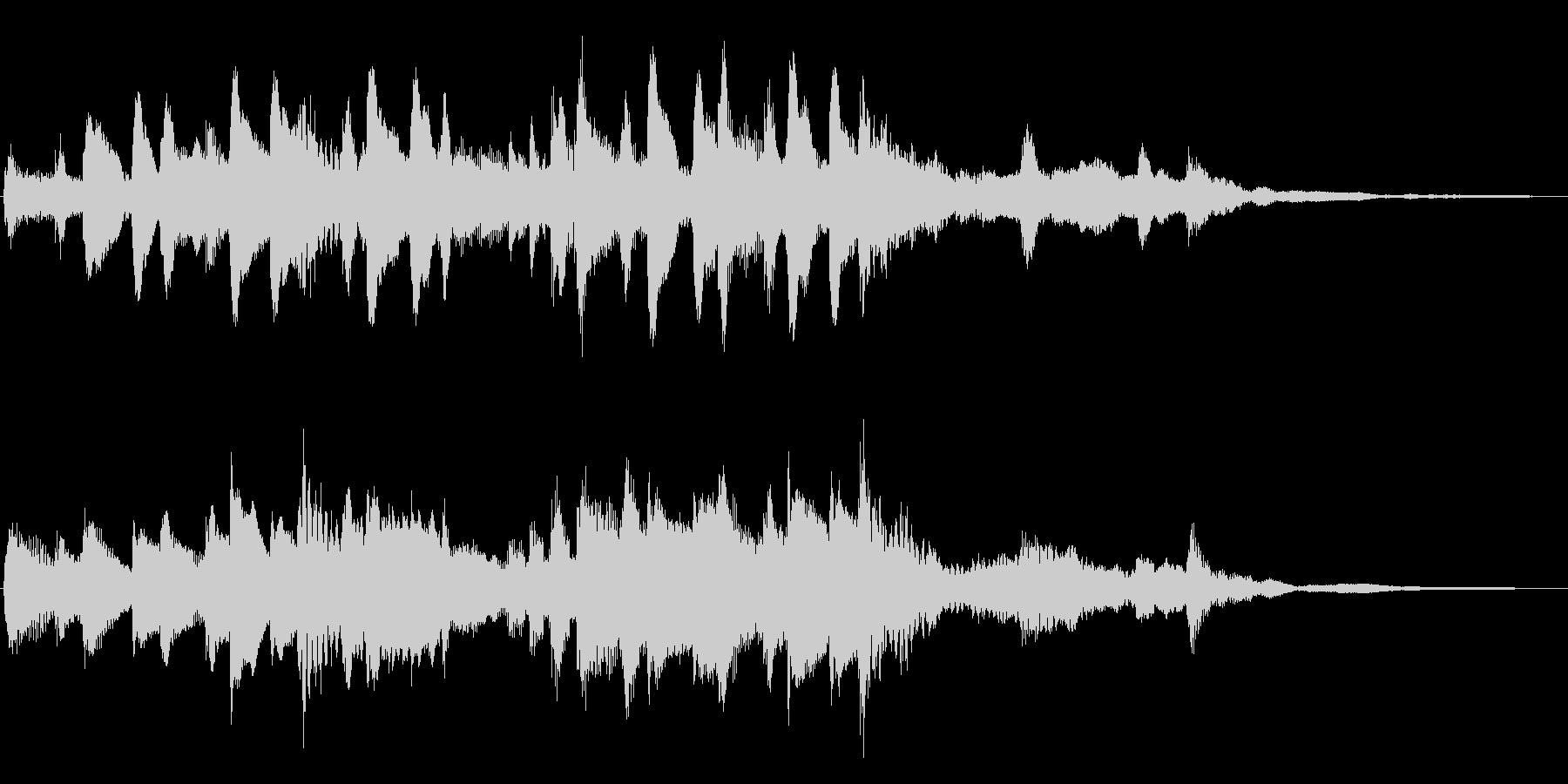 優しく可愛いリズミカルなCM向けピアノ曲の未再生の波形