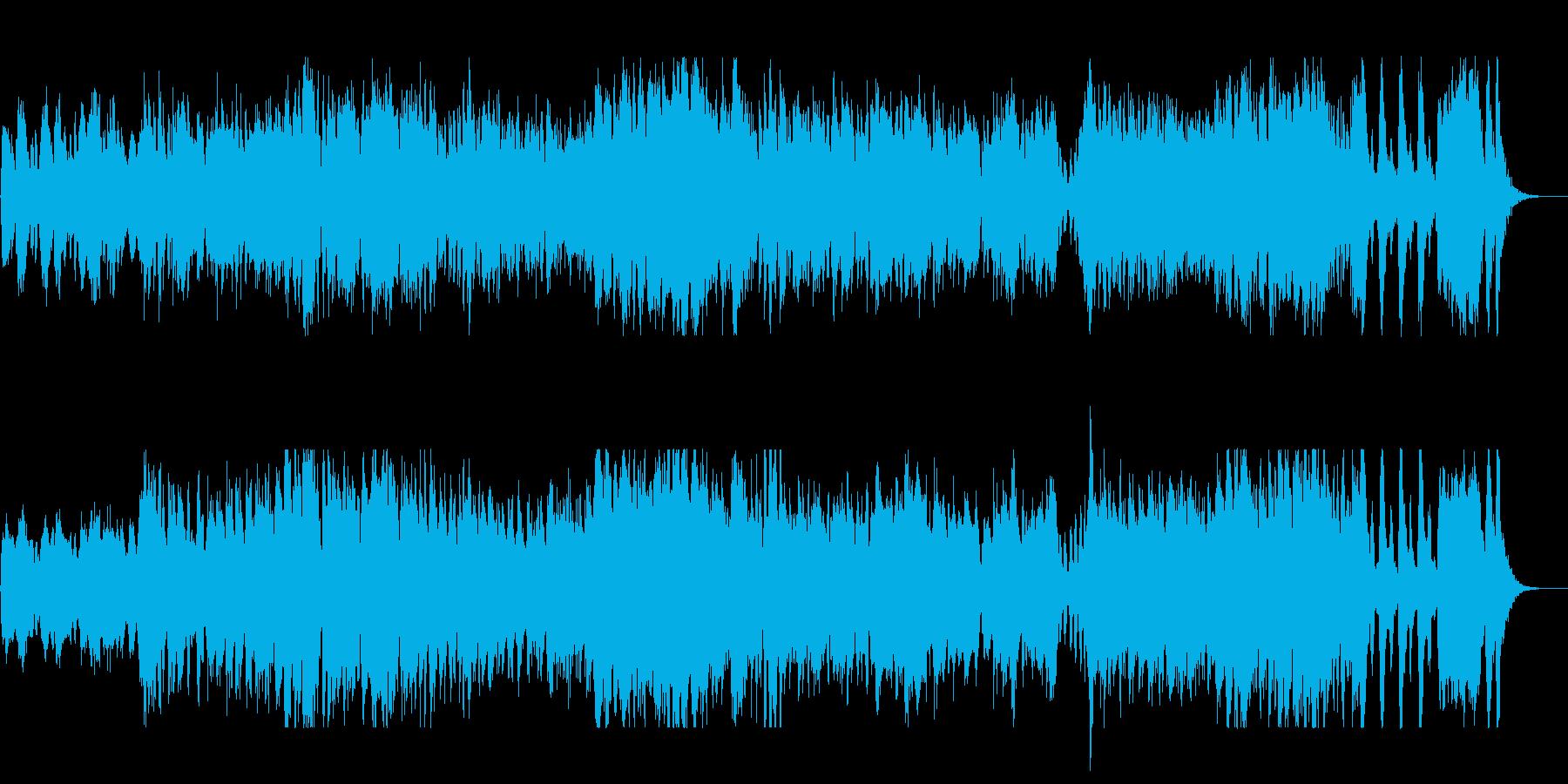 メルヘンなオープニングオーケストラの再生済みの波形
