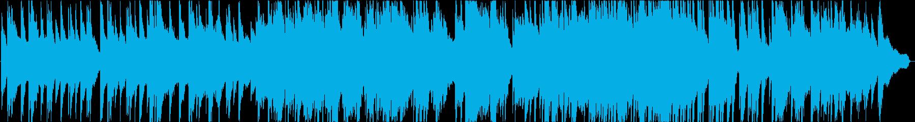 リラックスできるピアノソロ温かいイメージの再生済みの波形
