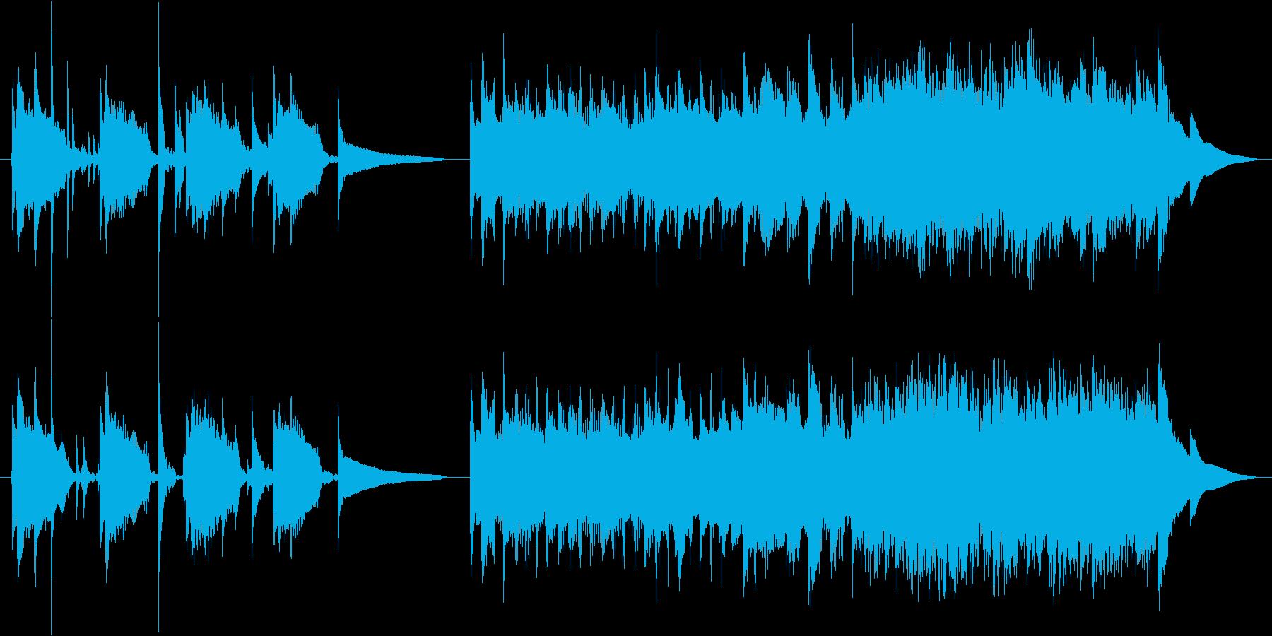 爽やかでポップなサウンド。CMなどにの再生済みの波形