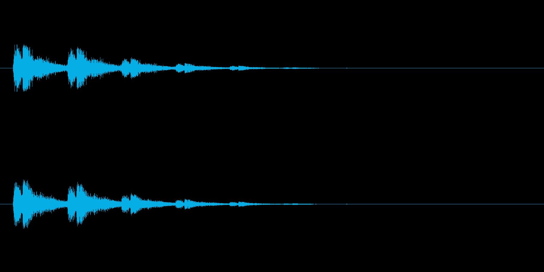 【スポットライト02-2】の再生済みの波形