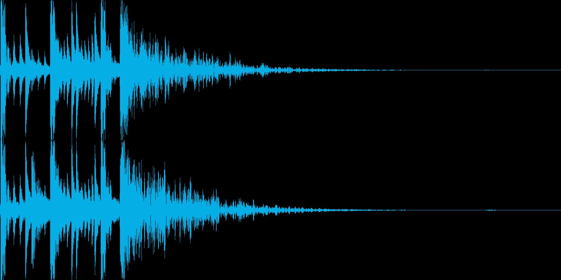 ドラムロール/ブレイク ジングルロゴ14の再生済みの波形