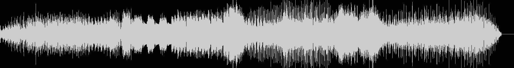 エスニック風の背景的音楽の未再生の波形