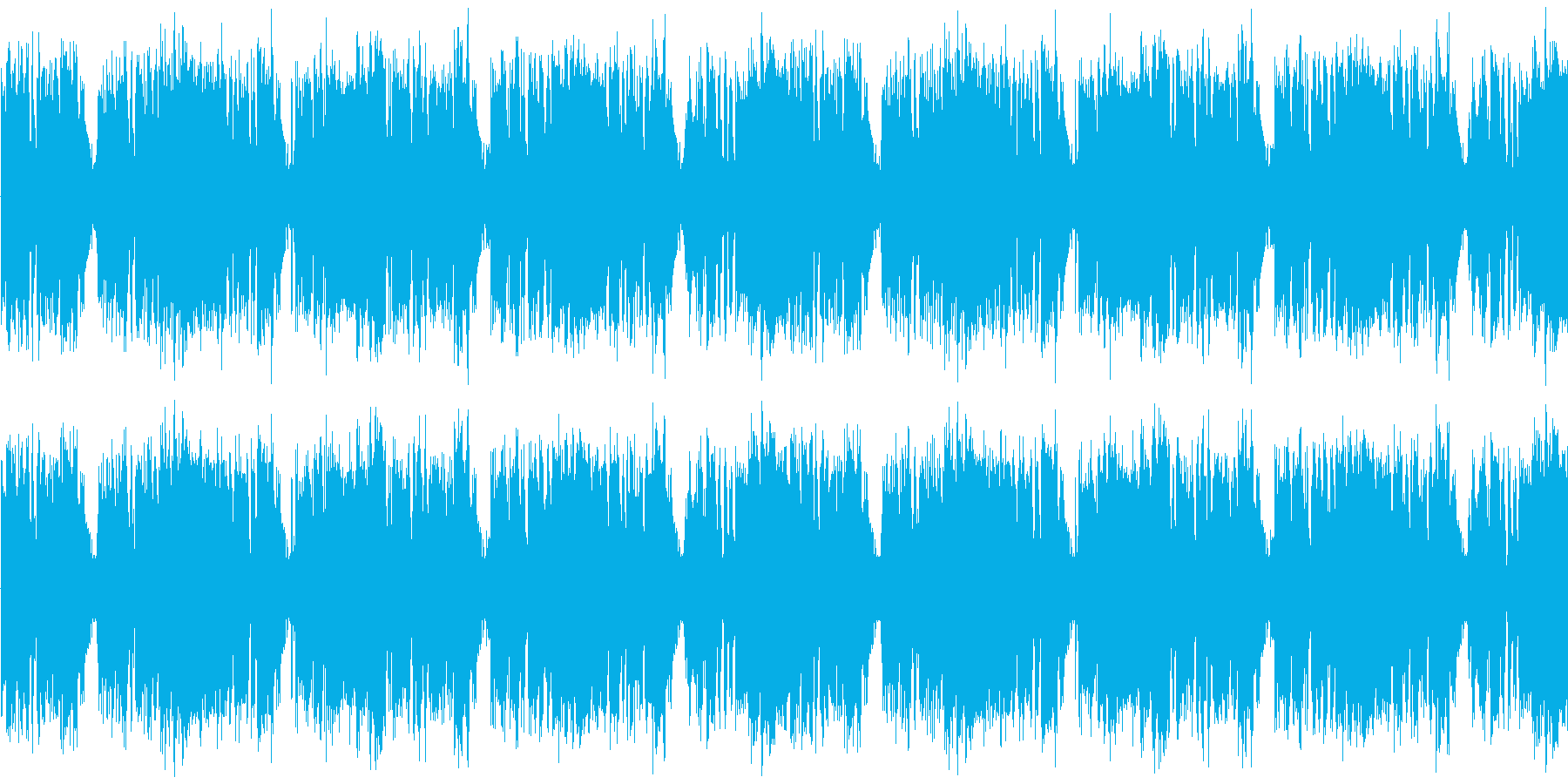 【ハードロックギター/BGM】の再生済みの波形