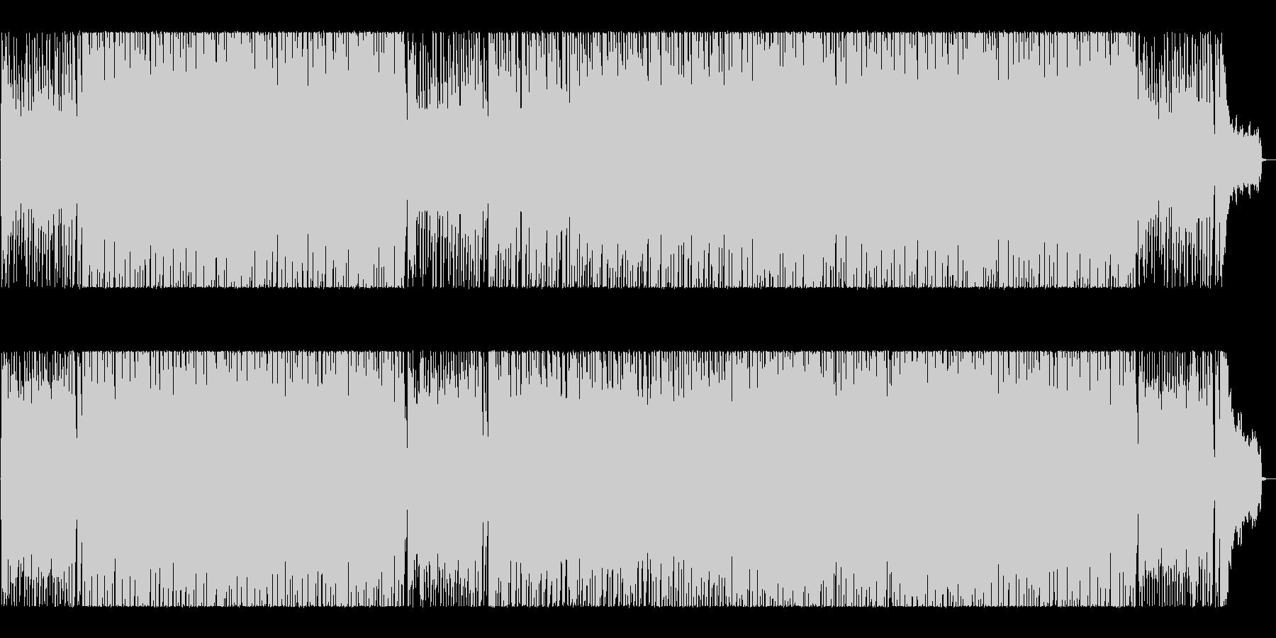 ノリの良い楽しいアコースティックBGM♪の未再生の波形