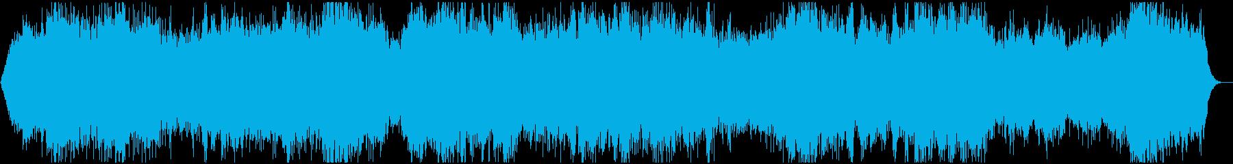 心霊映像の再現VTR用●アンビエント Aの再生済みの波形