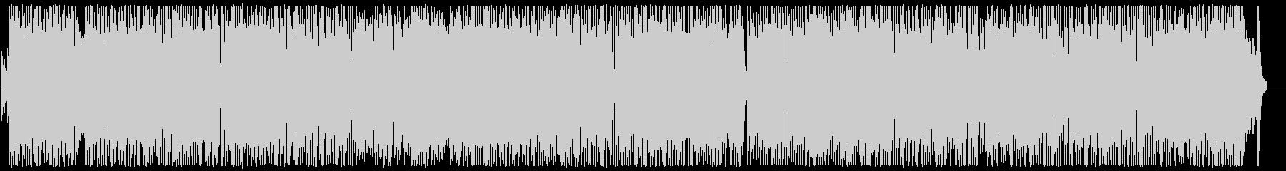 単純なリズムのエネルギッシュなロックの未再生の波形