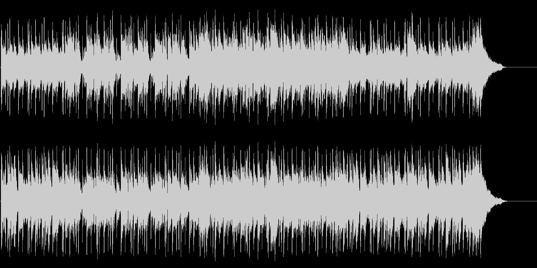 センチメンタルな南国のムードポップの未再生の波形