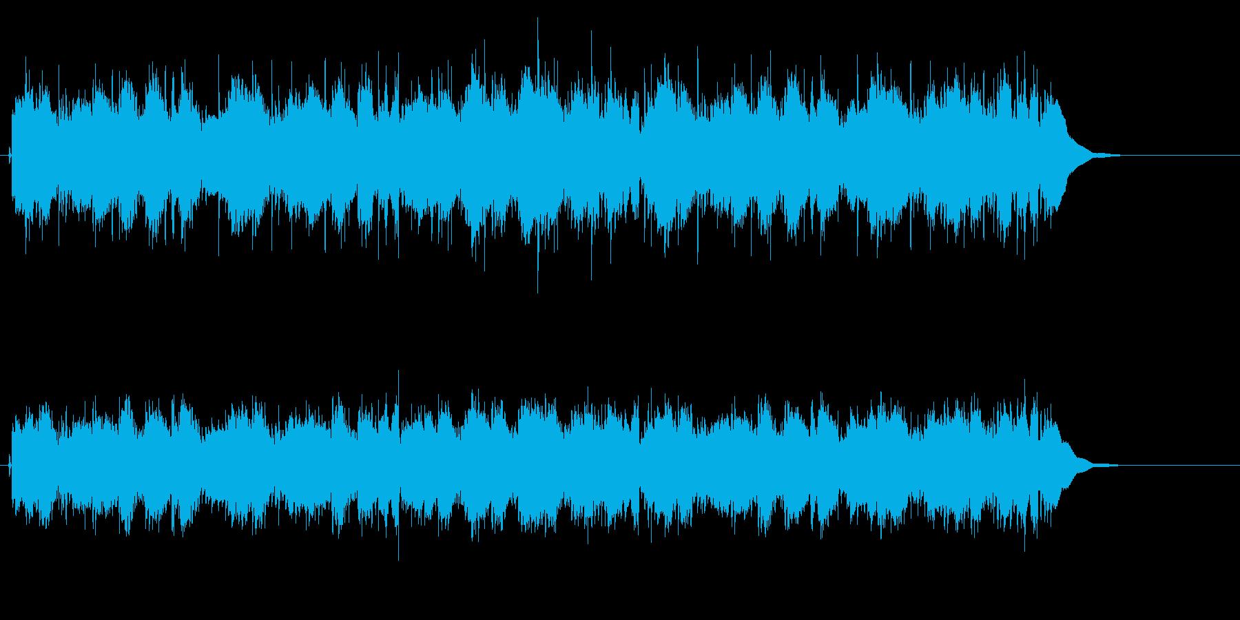 シンプルイズベストでクリーミーなポップスの再生済みの波形
