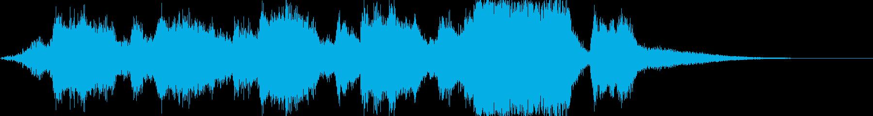 レベルアップや、ゲームクリア時のSEの再生済みの波形