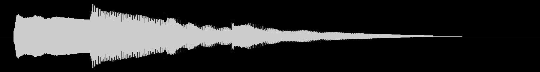 チャイム アナウンス06-4の未再生の波形