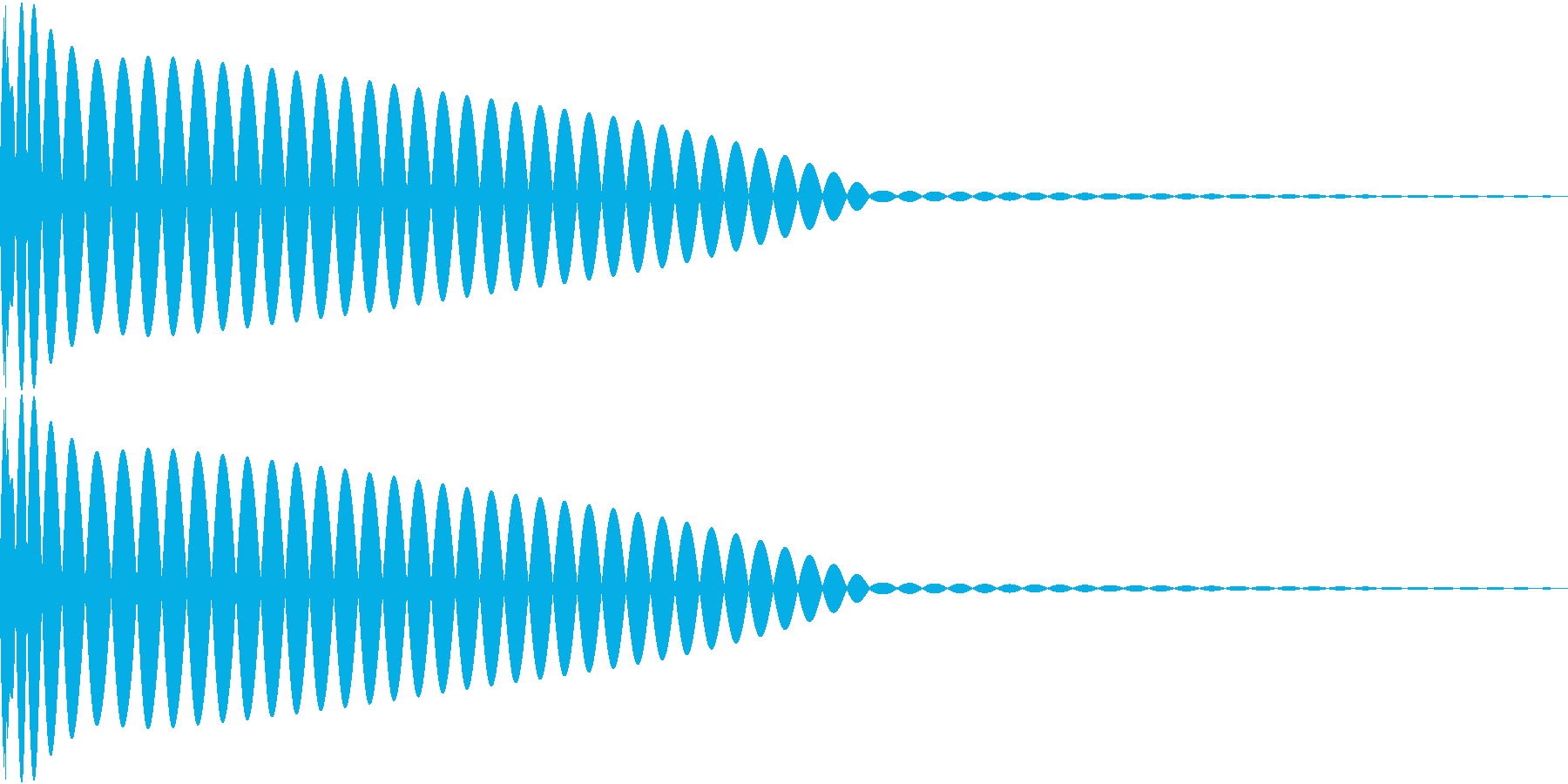 DTM Kick 78 オリジナル音源の再生済みの波形
