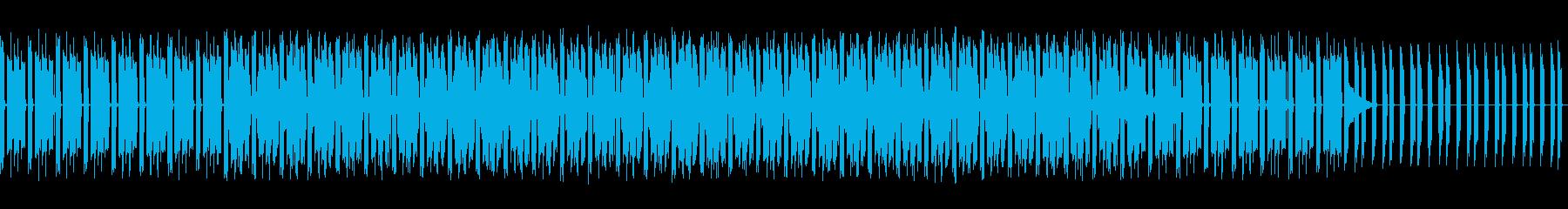 頭を使うシーンなどに EDMの再生済みの波形