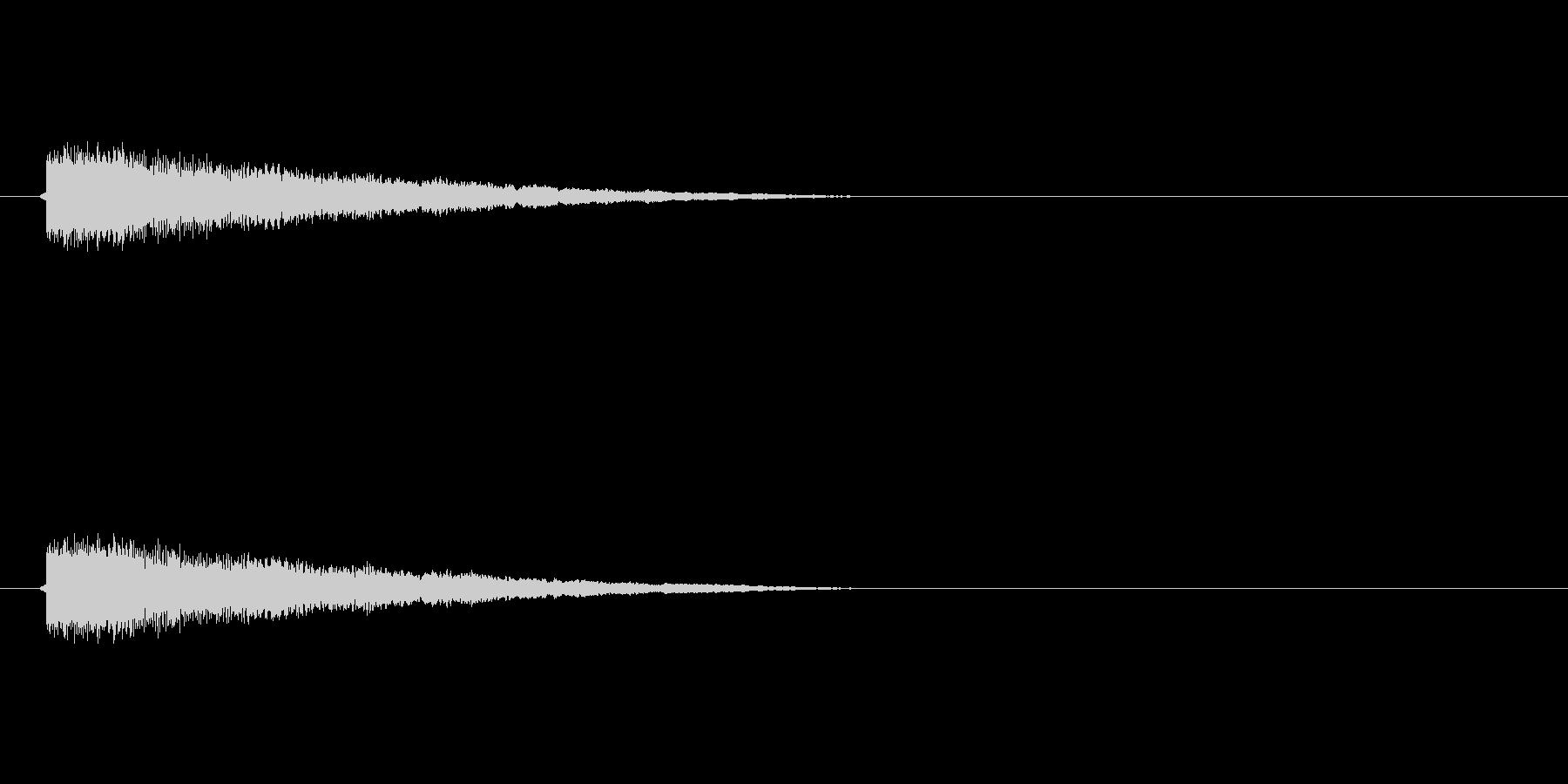 【ネガティブ03-2】の未再生の波形
