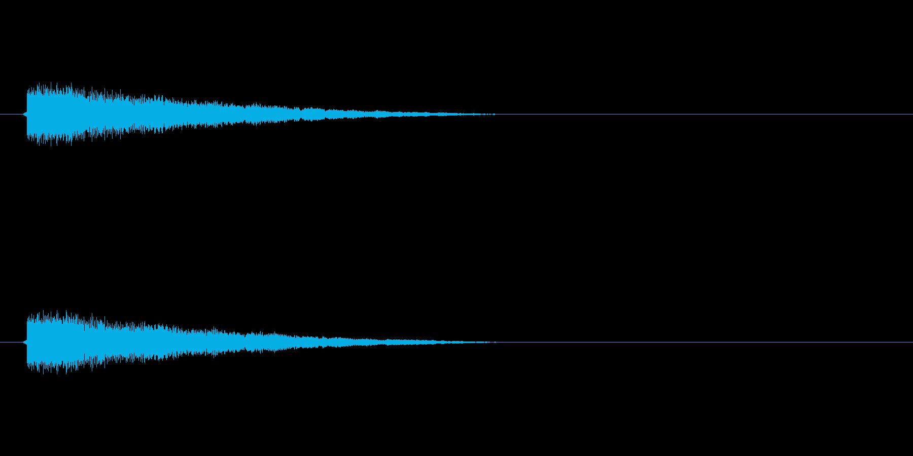 【ネガティブ03-2】の再生済みの波形