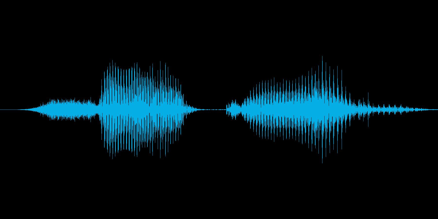 「4 PM」英語発音の再生済みの波形
