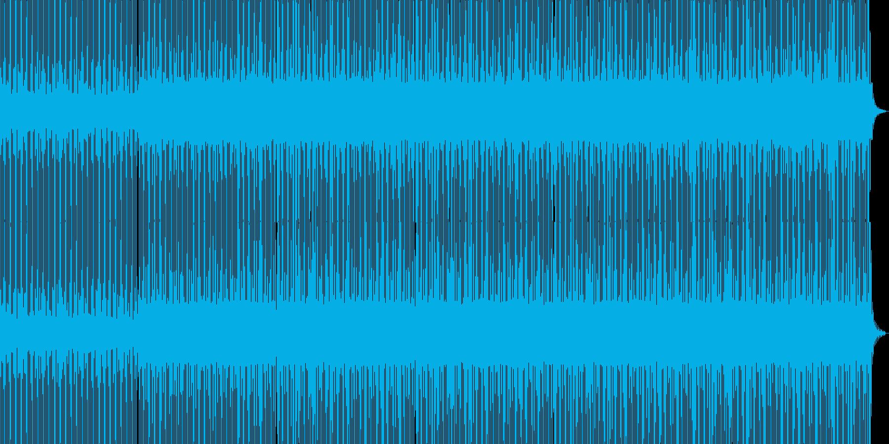 美しい神経の宇宙的鼓動、minimalの再生済みの波形