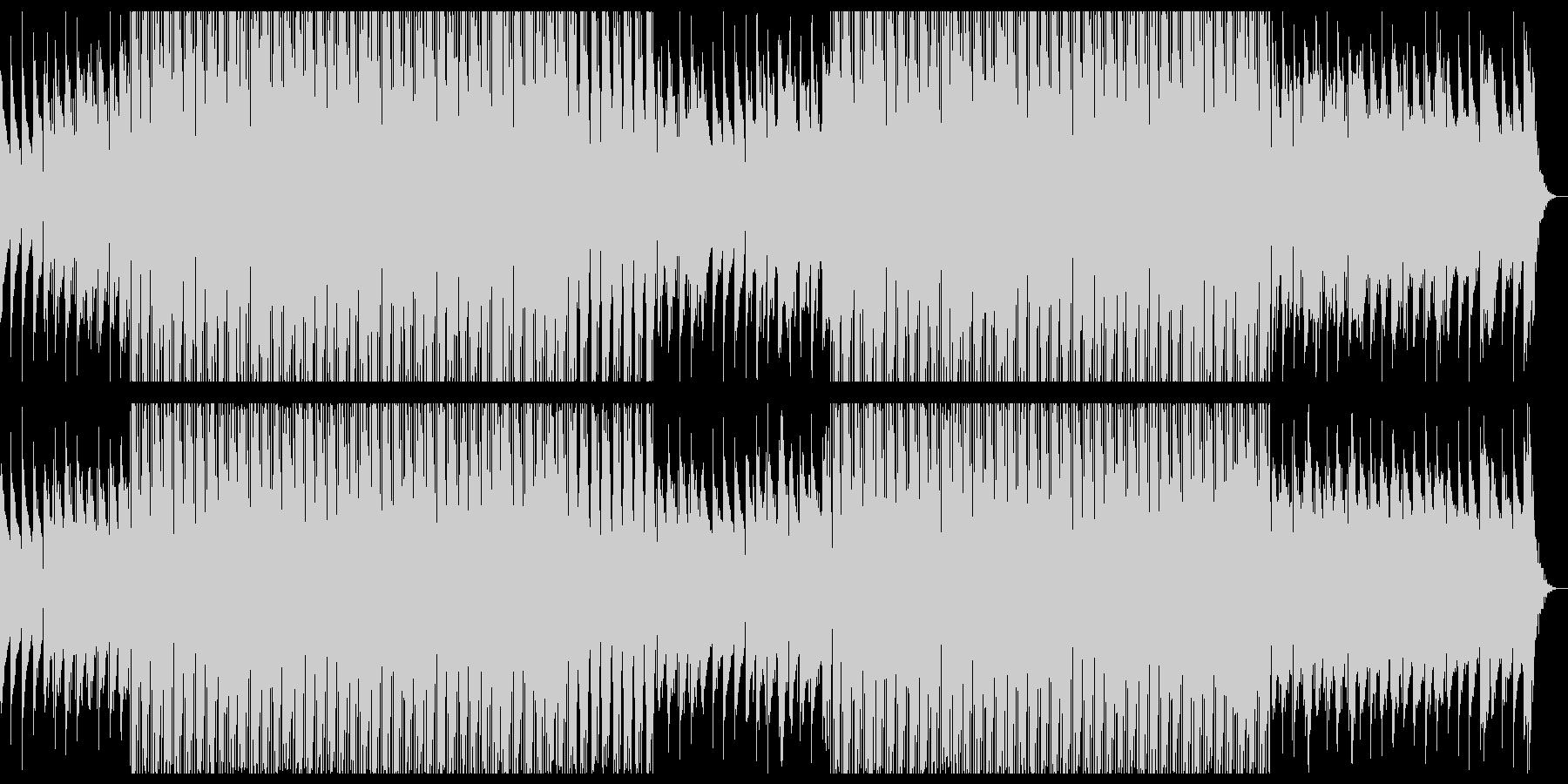 お洒落なDeep Houseの未再生の波形