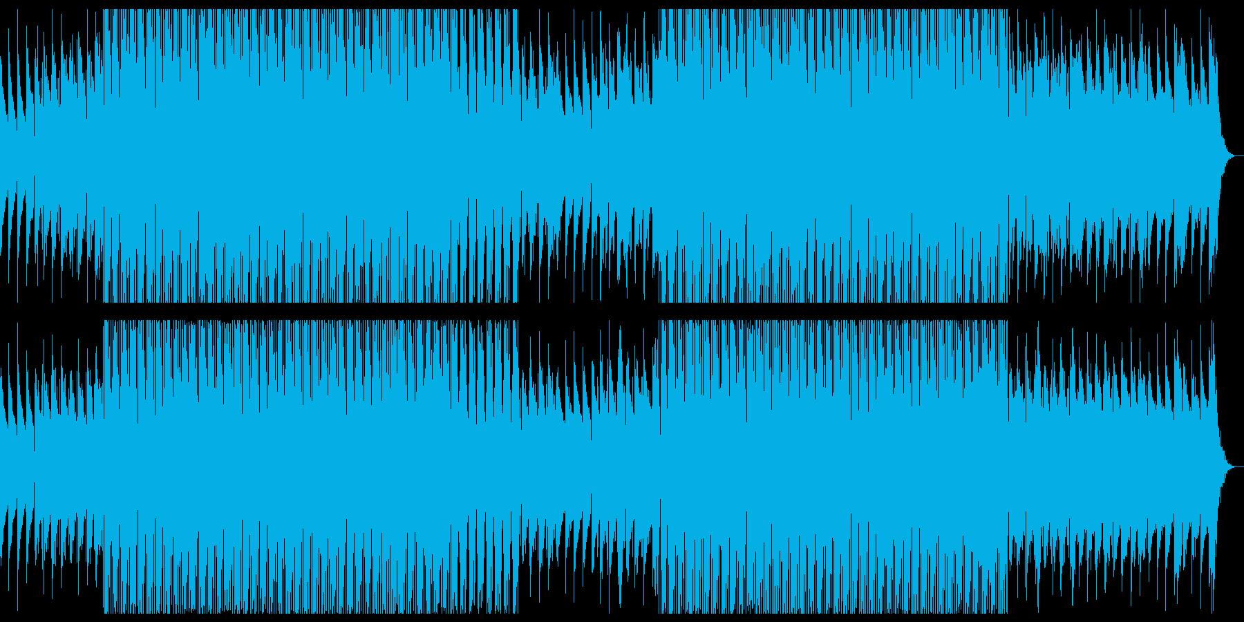 お洒落なDeep Houseの再生済みの波形
